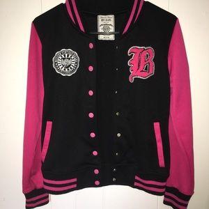 Other - Kids Pink Varsity Jacket